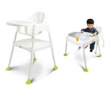 Kids Station Multipurpose Baby High Chair - White