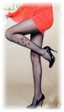 Fashion Pantyhose Glamour Woman Pattern Design 10D