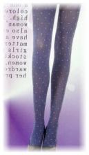 Fashion Pantyhose With Sexy Polka Dot Design