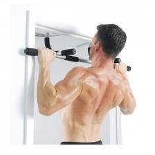 Multifunction Iron Upper Body Workout Bar Black