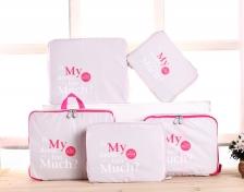 {JMI} Fadish 5-pieces Bag in Bag Travel Organizer - 5 Colors