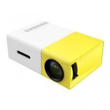 [1 Year Warranty ] OHHS YG300 USB Mini Portable LED Projector