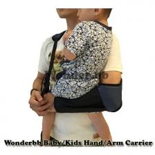 Wonderbb Baby/Kids Hand/Arm Carrier (with Cushion)