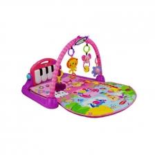 Babyqiner B880 Newborn Baby Mat with Music Pedal Piano (Pink)
