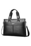 Runweboer RS8631 Men Formal Handbag Business Briefcase - Black