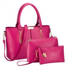 {JMI} 3 in 1 Luxurious Elegant Hand Bag 51# - 6 Colors