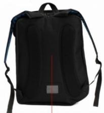 Backpack 2D Jump Paper Bag - PINK