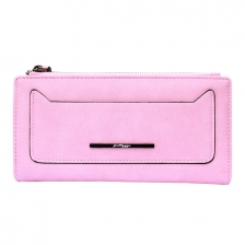 {JMI} Korean Style Scrub PU Leather SmartPhone Wallet PT15-413 - 6 Colors