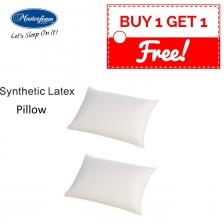 buy 1 free 1 Masterfoam Synthetic Latex Foam Pillow