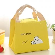 {JMI} E&D Iconic Canvas Lunch Bag - ED08