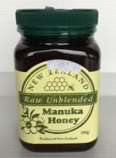 NZ Raw Unblended Manuka Honey 500g