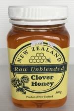 NZ Raw Unblended Clover Honey 500g (New Zealand Honey)