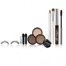 E.L.F. Cosmetics, Ultimate Look, Brown, 11 Piece Set