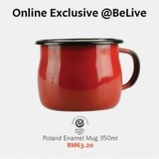 Enamel Olkusz_Emalia cup 350 ml