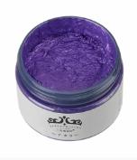 Japan Hair Color Wax Instant Hair Colour Wax High Quality - Purple