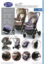 MY DEAR Baby Stroller 18076