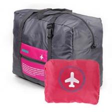 {JMI} Happy Flight Waterproof Nylon Foldable Travel Bag - 4 Colors