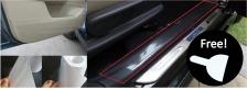 Car Door Step Interior Protection Film 4 Meters - FREE Scraper