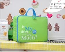 Korea Style Set of 5 Travel Luggage Storage Packing Organizer Bag