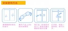 Child safety security door lock - 4unit