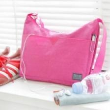 {JMI} Fadish Iconic Nylon Around Bag Sling Bag – 3 Colors