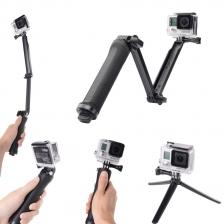 3-Way 3 Way 3Way Monopod Arm Tripod Stand Camera XiaoMi Yi GoPro SJCAM