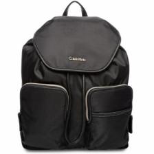 Calvin Klein H4DKY2SM Parker Ballistic Backpack for Women - Black/Gold