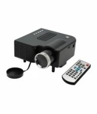 UC28+ Portable Mini LED Projector ( Black )