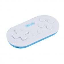 Mini 8Bitdo ZERO Controller Portable Bluetooth White Wireless GamePad Shutter For Android Phones iOS iPhone Windows Mac OS NEW Joystick Gamepad ( Sky Blue )