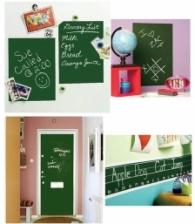 Chalkboard Waterproof Chalkboard Sticker - Green Color
