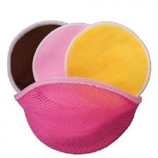Soft Nursing Pads Washable & Reusable (12 Packs) with FREE Bag