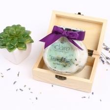 Lavender Oatmeal Scrub with French Sea Salt