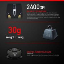 Fantech V2 KAEL 2400 DPI LED Optical 6D USB Wired Gaming Mouse with Luminous Logo