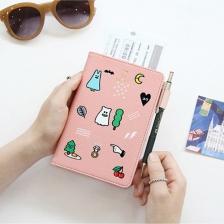 {JMI} GMZ Trendy Passport Wallet 0046# - 5 Colors