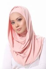 Dahlia Round Awning ~ Blush Pink