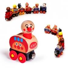 Anpanman Magnet Wooden Train Set -BT22