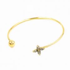 Rose Gold Clover Bracelet - 4092
