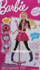 Barbie Microphone Dazzling Light Toys For Kids Children