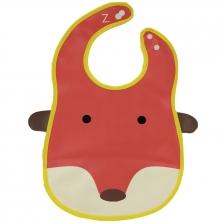 Fox Waterproof PVC Baby Bib