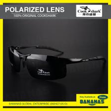 Original Cookshark Driving Fishing High Quality Fashion HD Polarized Sunglasses For Men / Women