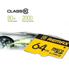 REMAX Class10 Micro SD Memory Card 64GB