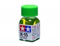 Tamiya Color Enamel Paint X-15 Light Green (10ML)