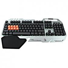 Bloody Light Strike 8-Infrared Switch Gaming Keyboard B418 (Silver,Gold)