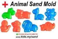 Kinetic Play Sand - Purple (2kg + Sand Tray + Sand Mold)