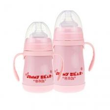 Jimmy Bear 2 in 1 Thermal Bottle 240ml (Pink)