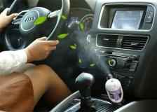 Car Air Humidifier Aromatherapy Air Purifier (Blue)