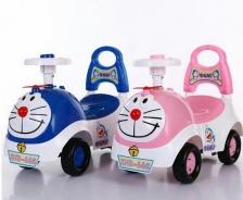 Doraemon Toodler Car / skater (Blue/ Pink)