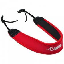 Canon Neoprene Strap (Red)
