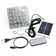 Solar Garden camping light LED Remote Bright SMD 25 LEDs Portable