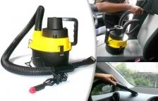 12V Wet / Dry Canister In-Car Vacuum Cleaner Caravan Vans Cleaner